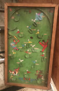 Vintage Poosh-m-up Andldquobig 5andrdquo 5 In 1 Pinball Game- 1933- Great