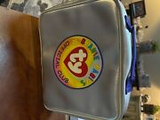 Ty Beanie Baby Clubby Ii With Silver Lunch Box Silver Coin And Paperwork