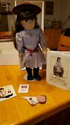 Retired American Girl Doll Samantha With Retired Dresses. Early 90s.