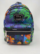 ⭐️ Nwt Loungefly Disney Peter Pan Lost Boys Vaulted Mary Blair Sold-out Backpack