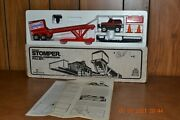 Vintage Schaper Stomper 4x4 Ford Bronco Competition Pull Sled Set And Original Box