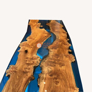Epoxy Coffee Table Top Custom Made Acacia Dining Table Resin Table Top Only