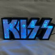 Kiss Light Box Litho Logo Box With Led Colored Lights And Built In Microphoneandnbsp