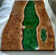 Solid Acacia Wooden Custom Table Modern Living Room Luxury Green River Furniture