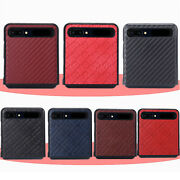Foldable Holster Protector Cover Skin For Samsung Galaxy Z Flip Phone Case F7000