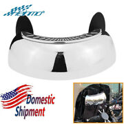 Motorcycle Rearview Mirrors 180 Degree Safety Wide-angle Lens Blind Spot Mirror