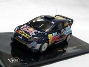 1/43 Redbull/red Bull And Dovizioso 2011 Ford Fiesta Rs Wrc Bologna 2nd Place 36