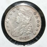 1832 Capped Bust Silver Half Dollar - 08338