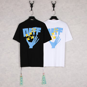 New Menand039s Womenand039s Universal Off White C/o Virgil Abloh Short Sleeve Tee T-shirt