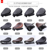 Universal Vintage Motorcycle Seat Cushion Saddle Solo Seat Motocross For Cross