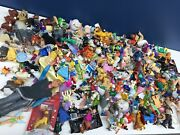 Used Lot 17 Pounds Mixed Disney Toy Figures Cake Toppers Pixar Dolls Vtg Modern