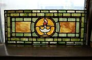 + Fine 120 Year Old Stained Glass Window 10 Of 11 - Chalice Co.