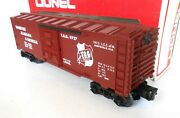 Lionel Uncatalogued Tennessee Alabama And Georgia Boxcar. N/box Lcca 9727. 4-and