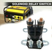 Start Relay 4-pole Generator Electromagnetic Switch Accessories Lawn Tractor