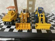 Diapet Sets Of Heavy Machinery 1/40 1/48 Made In Japan No Box