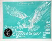 Chalk Couture Eagle Transfer New Home Of The Free And The Brave United States