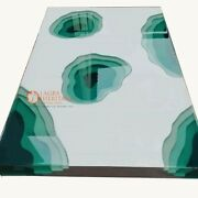 Luxury Epoxy Acacia Resin Dining And Coffee Table Handcrafted Best Wedding Gifts