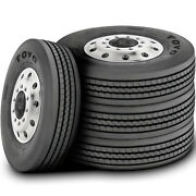 4 New Toyo M154 295/75r22.5 Load H 16 Ply Dc All Position Commercial Tires