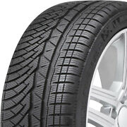 4 New Michelin Pilot Alpin Pa4 245/35r20 91v Studless Snow Winter Tires