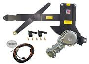 1968-1982 Corvette Front Door Power Window Kit With Ftfg Switches For Console