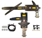 1968 Gm Chevelle Front And Rear Power Window Kit With Ftfg Switches For Door