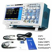 Digital Oscilloscope 100mhz 2channels 1gsa/s Real Time Sample Rate Usb Host