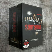 The Sopranos The Complete Series Dvd30-disc Box Brand New And Sealed Us Seller