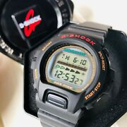 Rare Japan Vintage Casio G-shock Dw-6630b Fox Fire From Year 1995