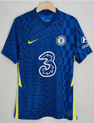Newest 2021/22 Nike Chelsea Fc Home Shirt Football Jersey For Adult