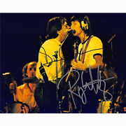 Roger Waters And David Gilmour - Floyd 82473 Authentic Autographed 8x10 + Coa
