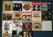Whole The Beatles 19 Records Vinyl First Press Usa Beatles Discography