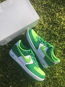 Size 14 - Nike Air Force 1 Low 2021 St Patricks Day Brand New Dd8458 300