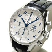 Tag Heuer Carrera Heritage Chronograph Cas2111 Back Schedule Watches Stainl...
