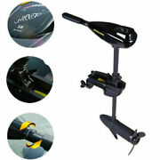 58lbs 12v Electric Outboard Motor Inflated Boat Brush Trolling Motor Engine 612w