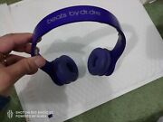 Authentic Beats By Dr. Dre Solo Hd Drenched Headband Headphones - Purple