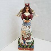 Jim Shore Angel Christmas Figure Blessed Be The Merry Of Heart 2000 4017632