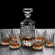 Lead-free Crystal Glass Whiskey Glass Set 6pcs Creative Red Wine Glass Decanter