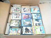 Huge 3000+ Lot Of Baseball Cards /huge Baseball Card Collection 1980and039s - 2000and039s