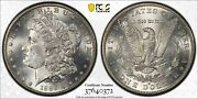 1889-s Pcgs And Cac Ms63 Morgan Silver Dollar Blast White