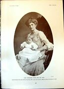 Old Lady Constance Hatch Baby Golf Stowell Park Gloucestershire 1903 20th