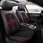Leather Seat Covers For Tacoma 2001-2021 Full Set Front And Back 5 Seats Cushions