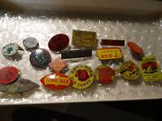 Lot 16 Different Antique Tobacco Tags Bulls ,birds ,full Bloom,micky And More