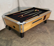 7and039 Valley Commercial Coin-op Pool Table Model Zd-7 New Black Cloth