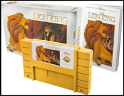 The Lion King Nintendo Snes Legacy Cartridge Collection Playable Le 2000