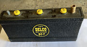 Delco Battery Dc-7, 53-56 Cadillac 53 Oldsmobile 53-58 Buick 6 Volt