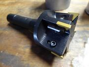 2 1/2 90 Degree Indexable Face Mill,with R8 Arbor-new