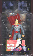 Dc Direct_elseworlds Collection Series 1_red Son Superman 6 Figure_new And Mip