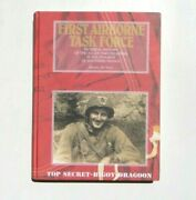 Vtg Wwii First Airborne Task Force American Paratroopers Airborne Book De Trez