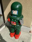 Lobby Robot Roby With Sparkling Action Oversized Green