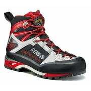 Asolo Menand039s A01042 Freney Gv Mid Black/silver Trek Hiking Climbing Boots Shoes
